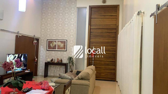 Casa Com 2 Dormitórios À Venda, 180 M² Por R$ 700.000 - Parque Residencial Damha - São José Do Rio Preto/sp - Ca2176