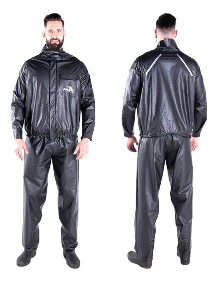 Capa Chuva Motoqueiro Blusa Calça Piraval Plus Pvc Ggg