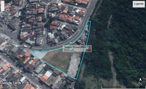 Cidade Dutra - Jd Malia Ii Terreno Com Galpão - 4.419m² - Te0070