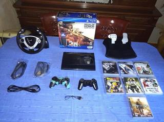 Playstation 3 Super Slim De 250gb Impecable En Su Caja