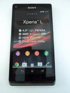 3 Xperia L Dual Sony - Celular Para Vitrine (não Funcional)