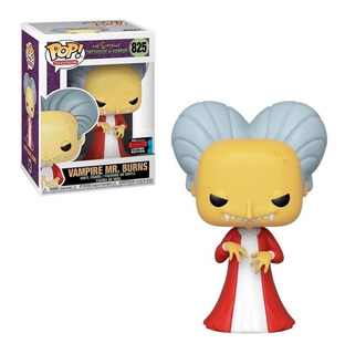 Funko Pop!- Los Simpsons - Vampire Mr. Burns #825 -exclusivo