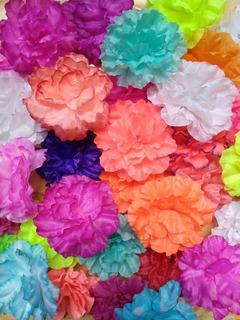 100 Flores Surtidas Decoracion Mexicana Bolo Fiesta