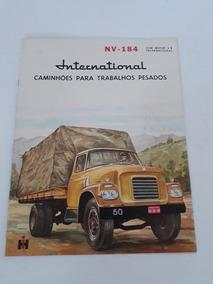 Folhete Brochura Prospecto Caminhão International Nv 184 50