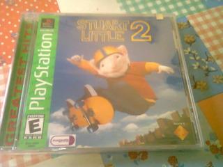 Pack 2 Juegos Ps1 Stuart Little Y Cool Boar 4 Nuevo