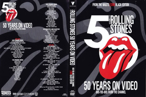 Dvd Duplo Rolling Stones - 50 Years On Video 60s - 70s - 80s