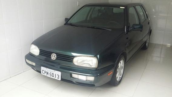 Volkswagen Golf Gl Motor 1.8 1998 Verde 5 Portas