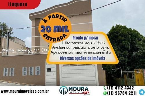 Casa Sobreposta Para Venda Em São Paulo, Itaquera, 2 Dormitórios, 1 Banheiro, 1 Vaga - 235232_2-1114789