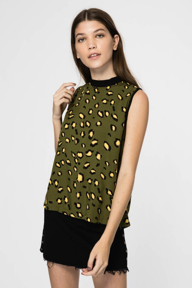Top Sans Doute Mujer Animal Print
