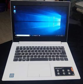 Notebook I5 7º Geração Lenovo Top De Linha Novissimo Branco