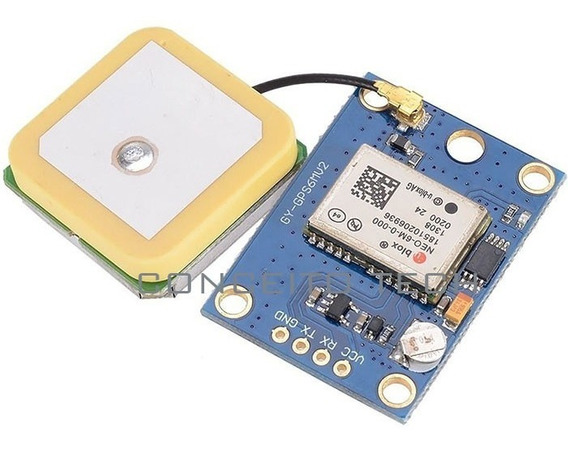 Módulo Gps Ublox / U-blox Neo-6m + Antena Apm Mega Arduino