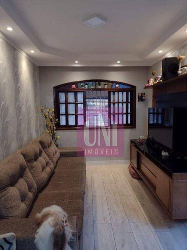 Imagem 1 de 16 de Sobrado Com 3 Dormitórios À Venda, 125 M² Por R$ 550.000 - Vila Vivaldi - São Bernardo Do Campo/sp - So0720