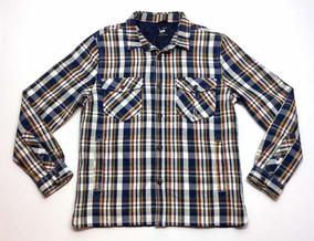Con Escocesa Slim Lee Matelasse Camisa Americana Leñadora Xl rdCthQsx