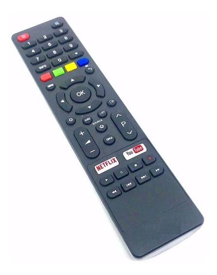 Controle Remoto Tv Philco Smart Ph55 Tecla Netflix Youtube