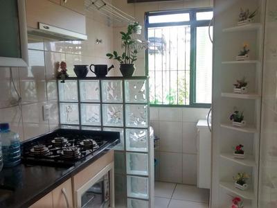 Apartamento Em Condomínio Alvorada Ii, Valinhos/sp De 54m² 2 Quartos À Venda Por R$ 230.000,00 - Ap220580