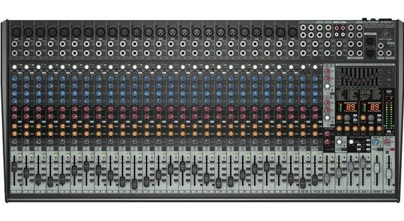 Mesa De Som Efeito Mixer Eurodesk Sx3242fx Behringer Bivolt