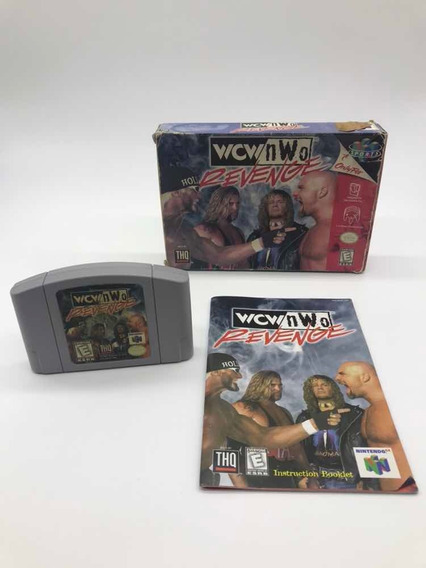 Wcw Nwo Revenge Nintendo 64 N64 Cib Original Americano