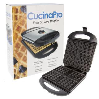 Waffler De Cuatro Cuadrados - Waffler Iron Antiadherente.