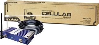 Repetidor Celular Single 900mhz 70db Aquário Rp-970