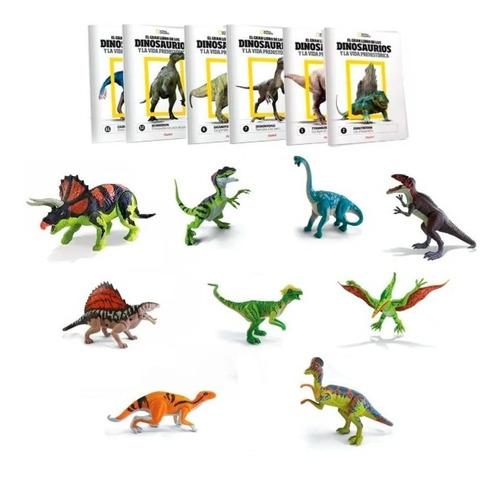 Imagen 1 de 3 de Clarín Colección De 9 Dinosaurios De Natgeo