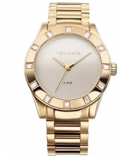 Relógio Technos Feminino Elegance Crystal 2035ffh/4x