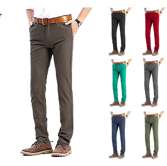 Pantalones Caballeros Regular Fit By Plutonio