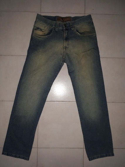 Jeans Narrow Verde Localizado