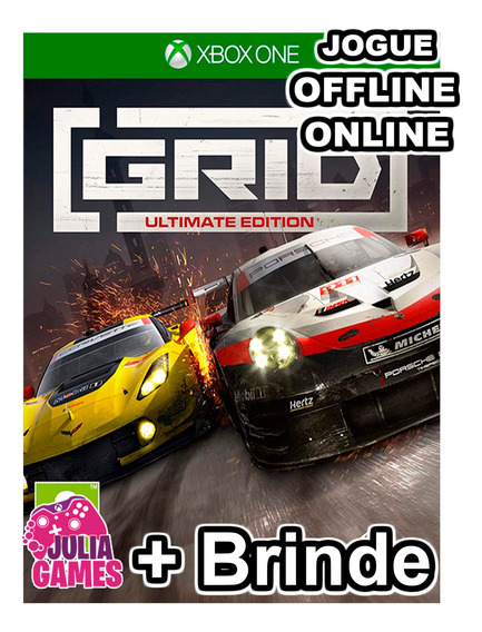 Grid Ultimate Edition Xbox One Digital + 1 Jogo De Brinde