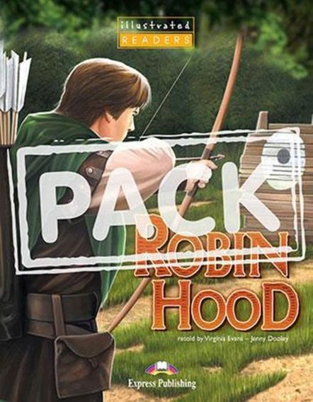Robin Hood - Illustrated Reader With Multi-rom Ntsc