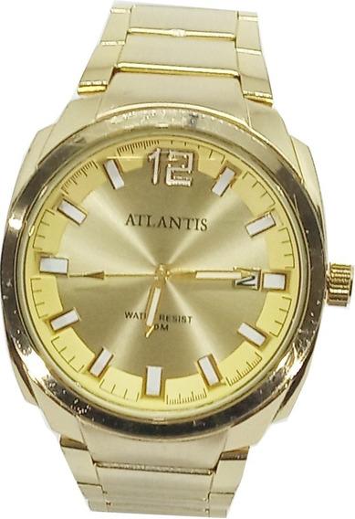Relógio Atlantis Masculino Luminoso A3357
