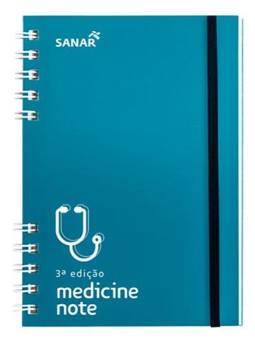 Medicine Note 3ª Edição Sanar Medicina 2020 - Guia De Bolso