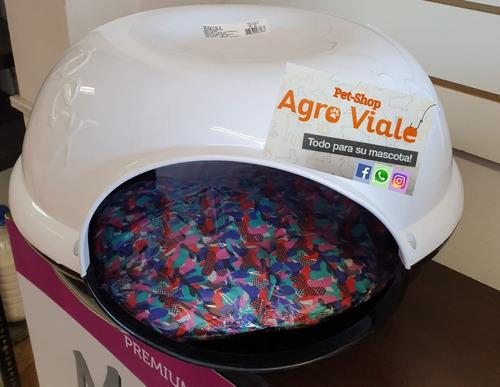 Imagen 1 de 5 de Cuna Cama Casilla Plastica Para Gatos C/ Almohadon Agroviale