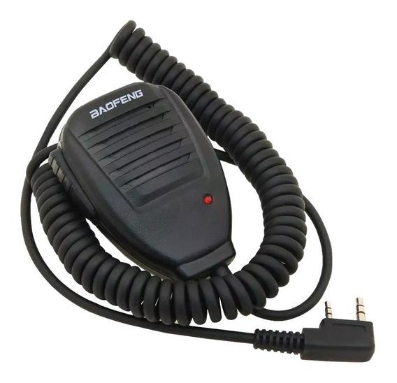 Microfono Manos Libres Ptt Handy Baofeng Microfono De Palma Salida Auricular Clip Ropa Handie