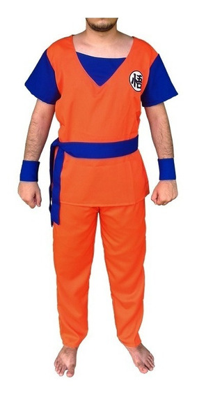 Cosplay Goku - Dragon Ball Z- Roupa - Fantasia - Infantil