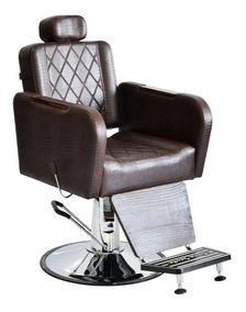 Cadeira Para Barbeiro Reclinável Caravaggio Terra Santa