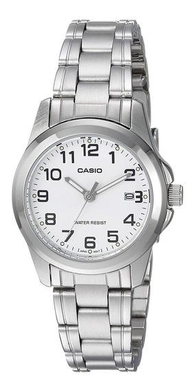 Reloj Casio Mujer Plateado Ltp-1215a-7b2df