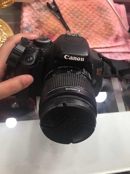Câmera Canon T3i + 18 - 55 Mm + 2 Baterias