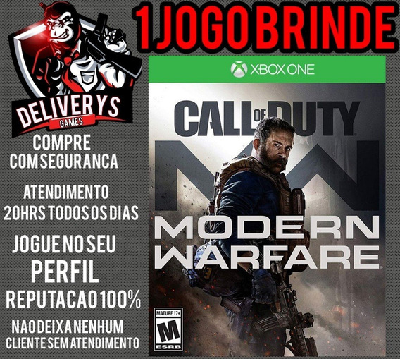 Call Of Duty Modern Warfire Xbox One Midia Digital+ 1 Brinde