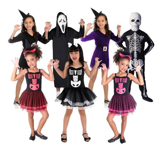 Disfraz Halloween Esqueleto Brujas Mascara Terror Cuotas