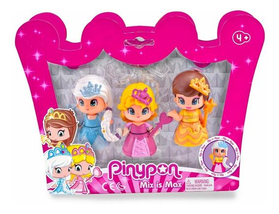 Pinypon 3 Princesas Pack