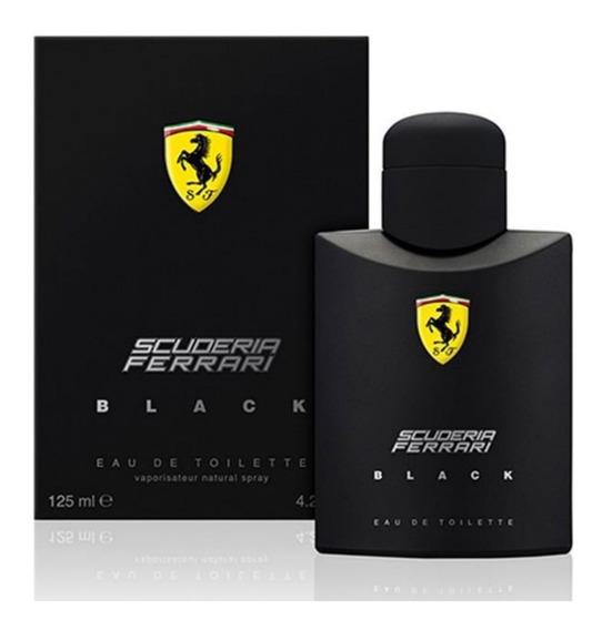 Perfume Ferrari Black 125ml ** Original ** Frete Grátis