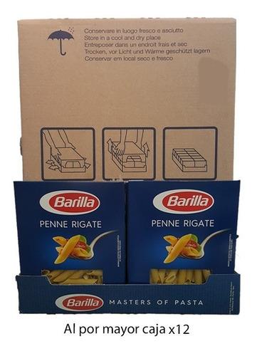 Imagen 1 de 2 de Por Mayor Pasta Barilla Penne Rigate 500g Caja Por 12