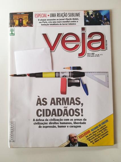 Revista Veja Edição 2408 De 14 De Janeiro De 2015