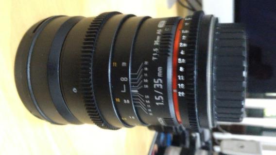 Lente Rokinon-35mm