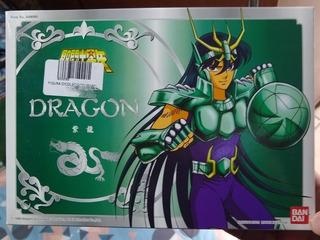 Dragón V2 Shiryu Vintage Saint Seiya Ban Dai Original