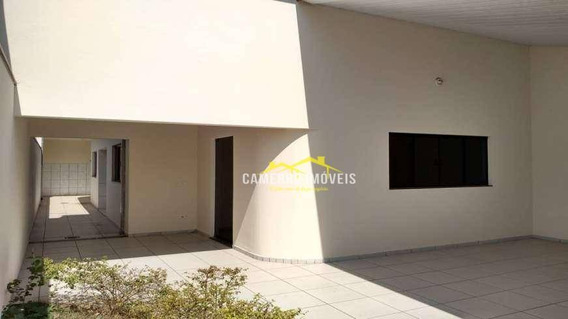 Casa Com 2 Dormitórios Para Venda E Locação, 90 M² Por R$ 1200,00 - Jardim Paz - Americana/sp - Ca2179
