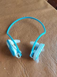 Reproductor De Mp3 De 8gb Resistente Al Agua Y Sin Cables