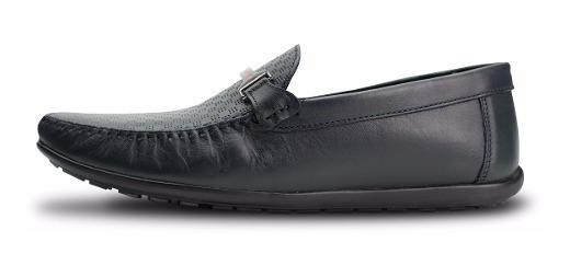 Zapato Karosso Kasual 10101 Azul Atanado
