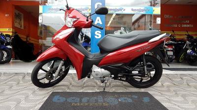 Honda Biz Biz 125 Flex 2019 Vermelha Impecável