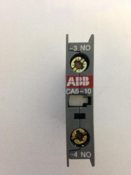 5 Pç - Bloco De Contato Auxiliar Ca5-10 - Abb (1no)